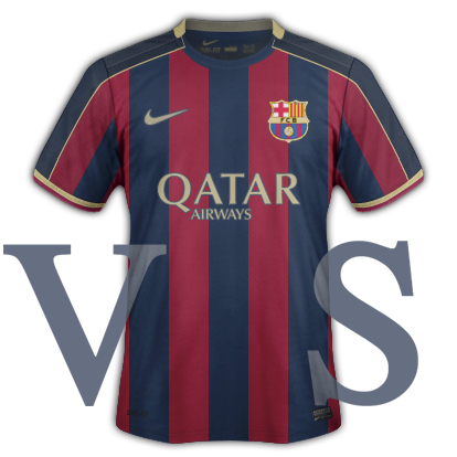 FC Barcelona Home Kit season 16/17