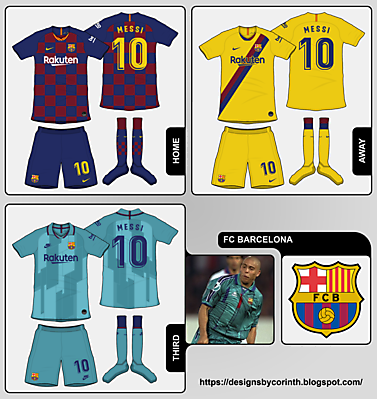 FC Barcelona kit predictions