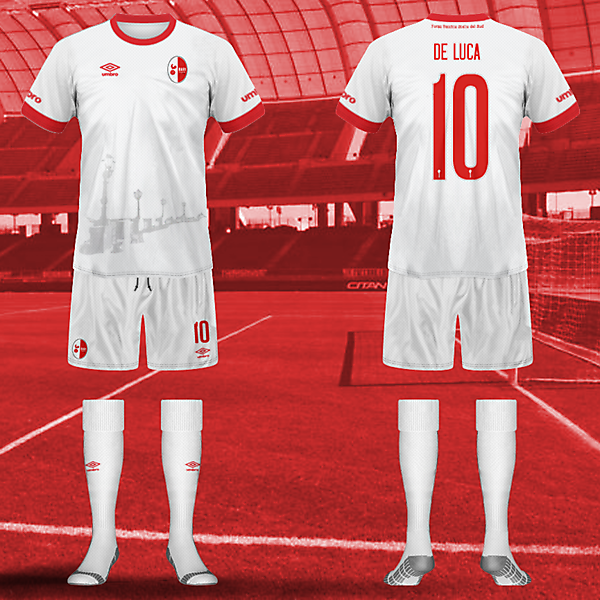 FC Bari 1908 official home kit