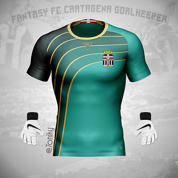 FC Cartagena Goalkeeper by @7oniky