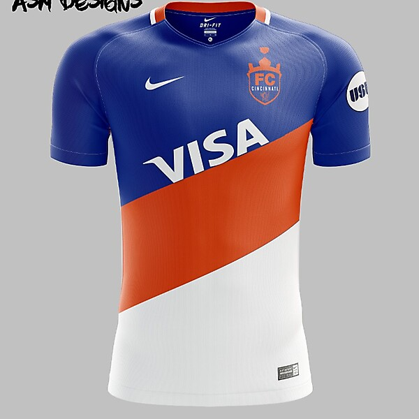 FC Cincinnati Nike 2018 Home Kit
