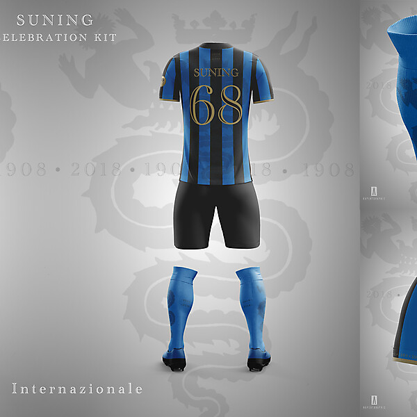 FC INTERNAZIONALE CELEBRATION KIT SUNING | CONCEPT