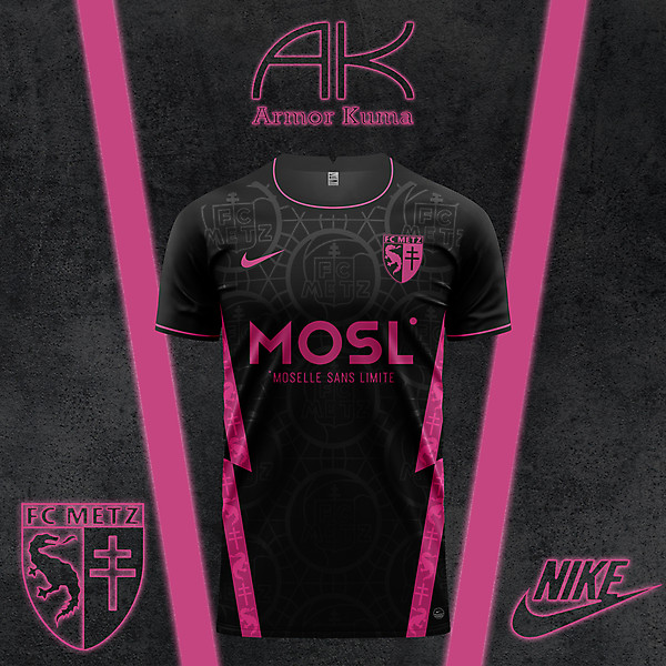 FC Metz Nike Away Kit