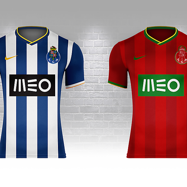 FC Porto as Portugal (Fantasy Nike World Cup Campaign)