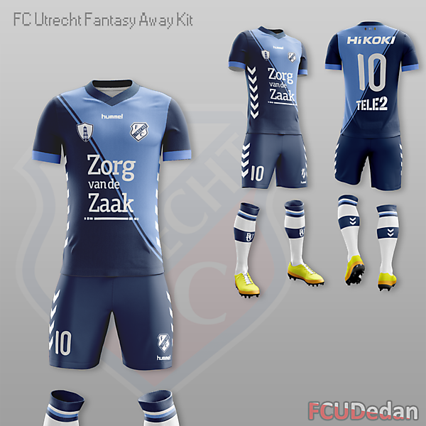 FC Utrecht Fantasy Away Kit Design