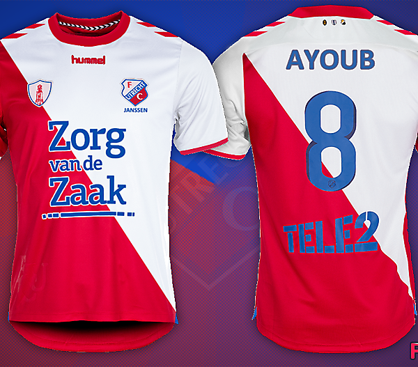 FC Utrecht Fantasy Shirt Kit Design 2