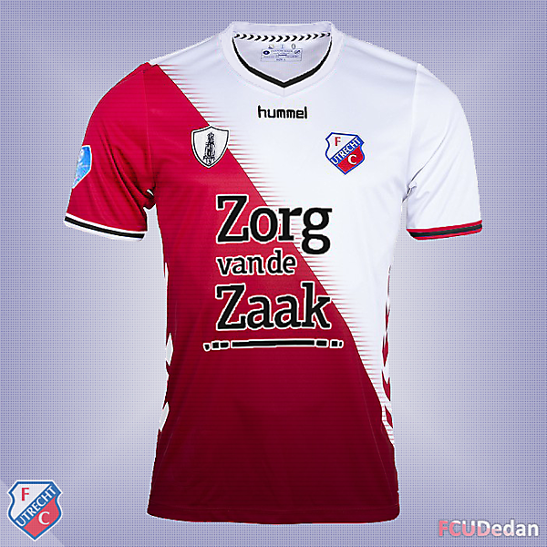 FC Utrecht Fantasy Shirt Kit Design 3