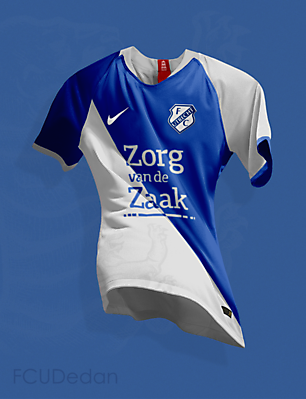 FC Utrecht Nike Fantasy Away Kit
