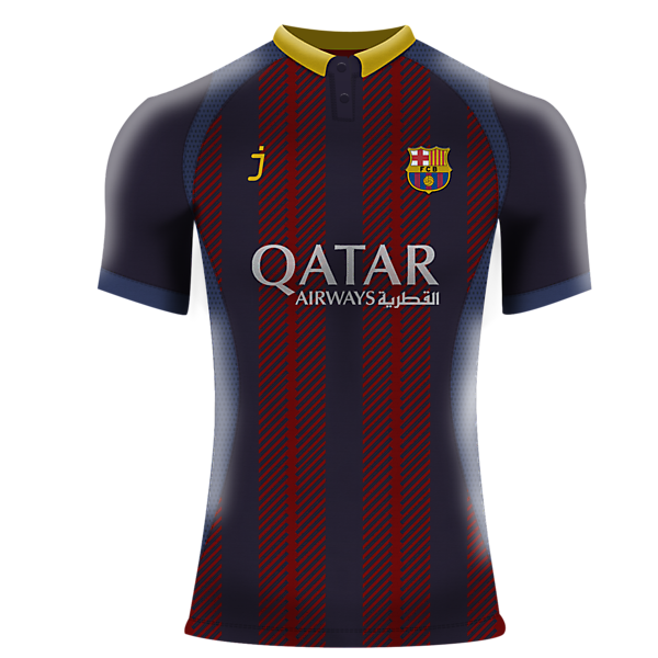 FCB fantasy jersey by J-sports