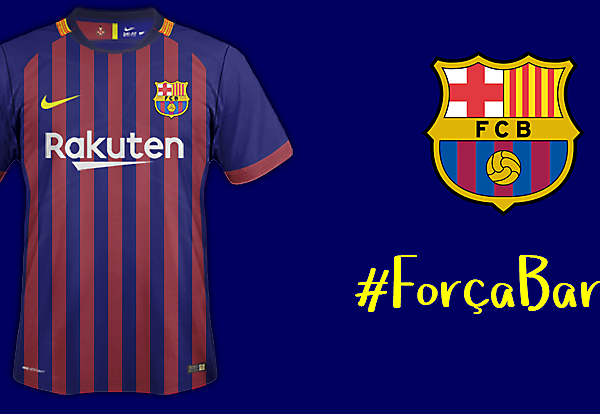 FCBarcelona Home Kit