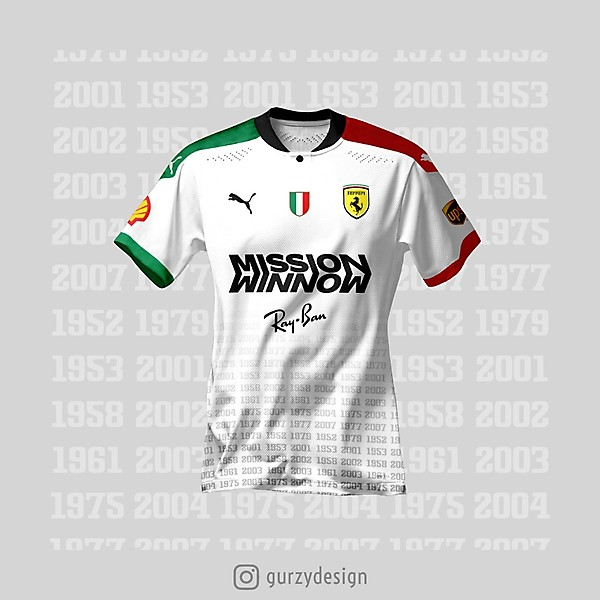 FERRARI - AWAY KIT