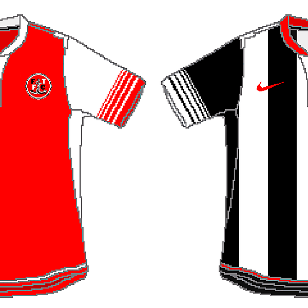 Fleetwood Town Nike Home and Away