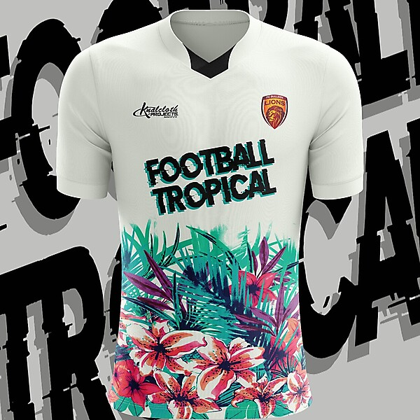 Football Tropical Jersey Concept