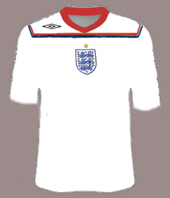 Possible Next England Home Shirt
