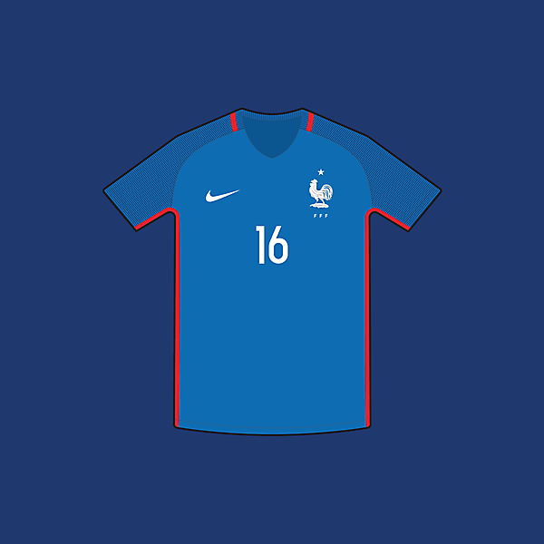 France - Home / Euro 2016