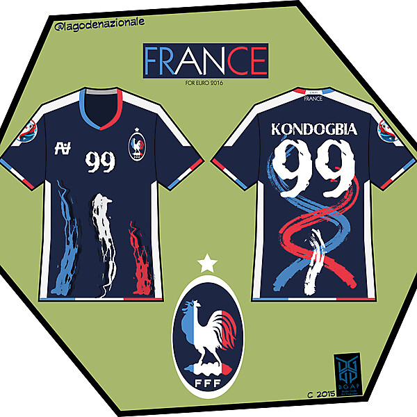 France Fantasy Home and Crest 2016