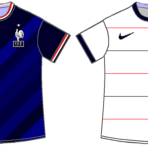 France home and away kits