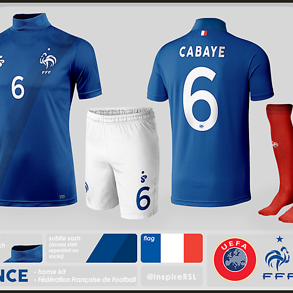 France Kit - World Cup Competition, Semi Finals
