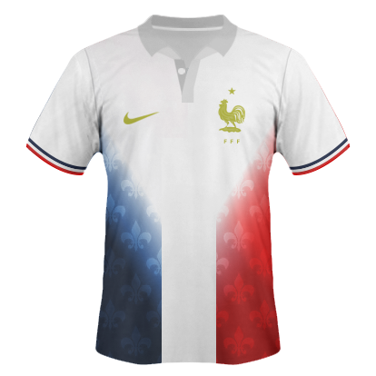 France Nike away kit / Maillot France Extérieur