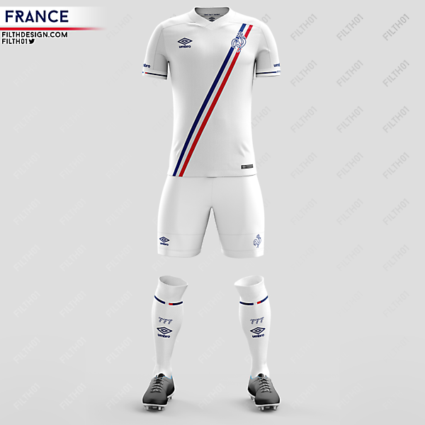 France x Umbro | Away Kit