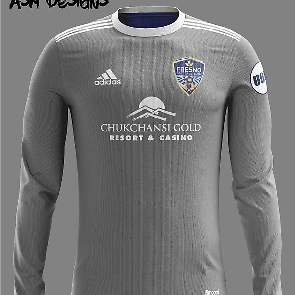 Fresno FC Adidas 2018 Alternate Kit