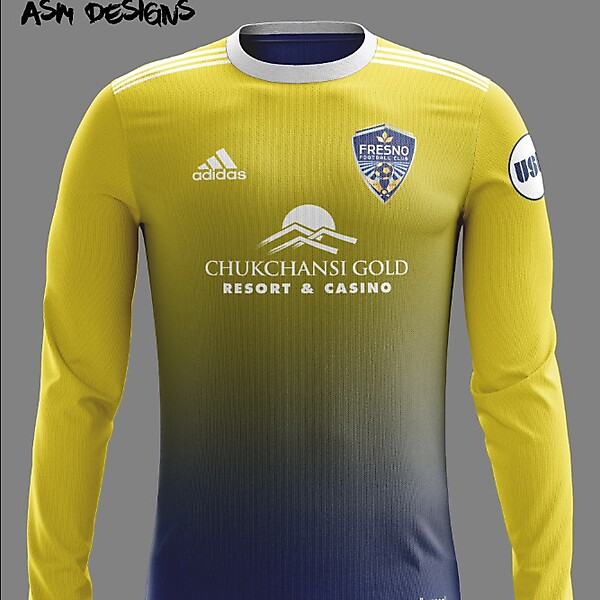Fresno FC Adidas 2018 Away Kit