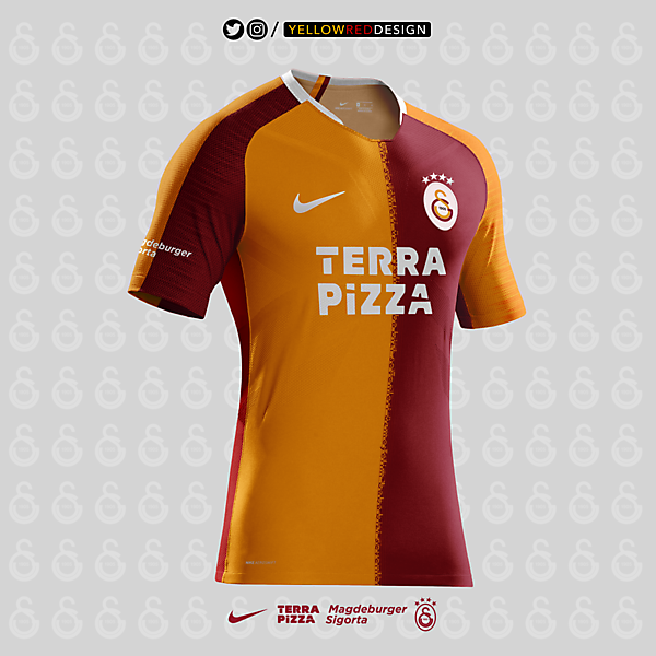 Galatasaray 20/21 Home Design