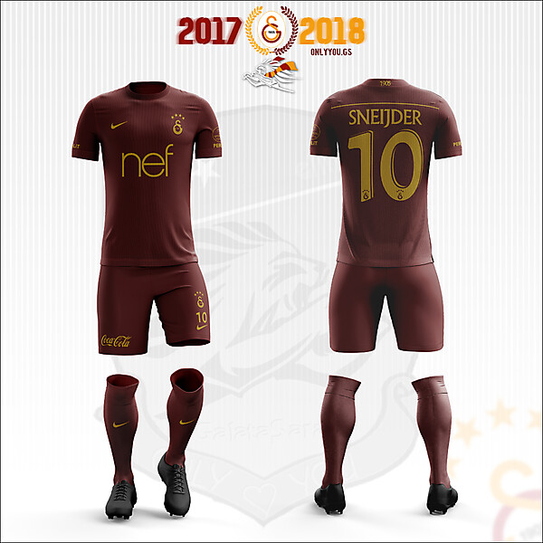 Galatasaray * Nike | 2017-2018 Third Kit