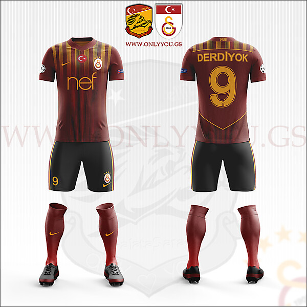 Galatasaray * Nike | Away Kit
