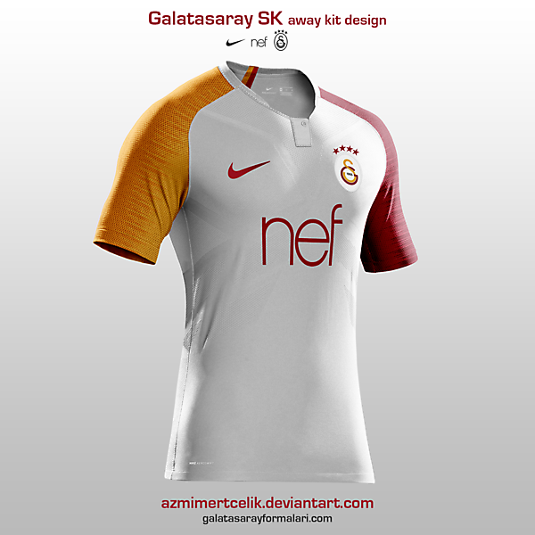 Galatasaray Away Design
