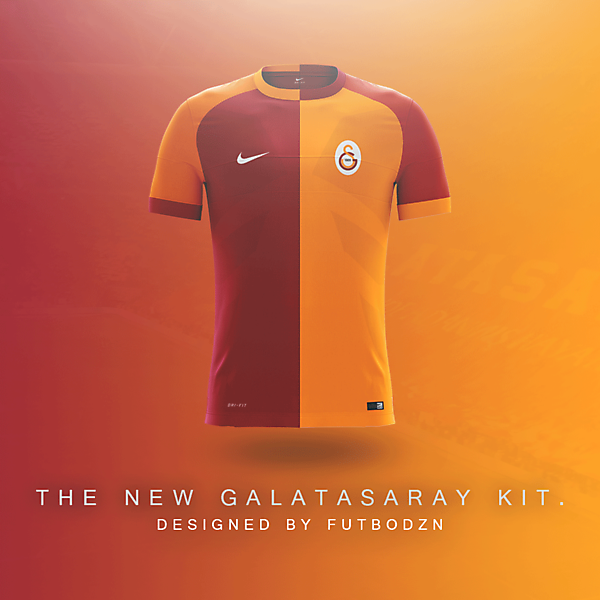 Galatasaray Home Kit Concept