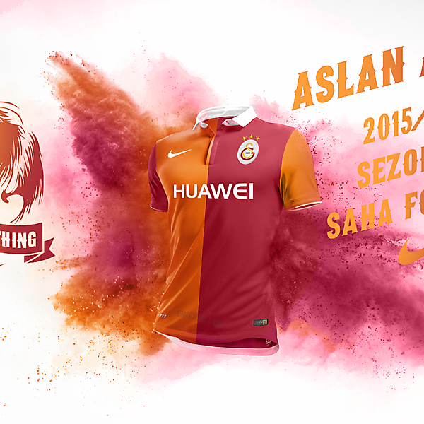 Galatasaray SK 15/16 Home Kit Design