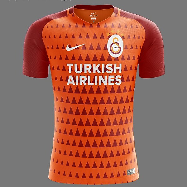 Galatasaray S.K. Nike 2018 Home Kit