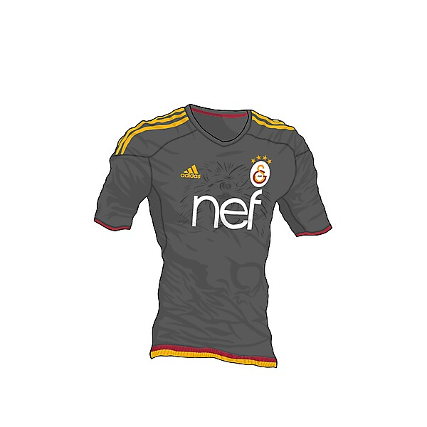 Galatasaray Third Shirt (Techfit)