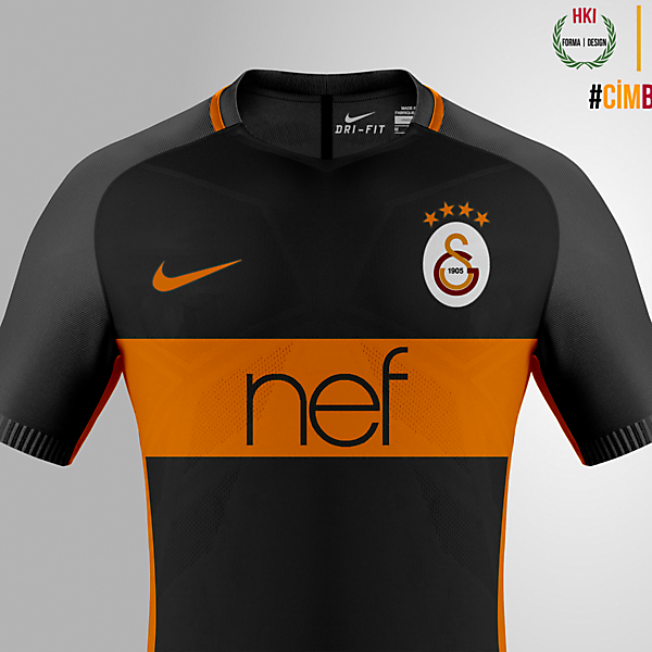 Galatasaray x Nike consept away kit
