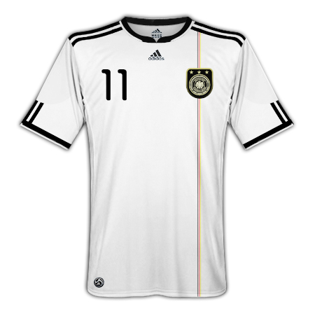 Germany Adidas Home WC2010