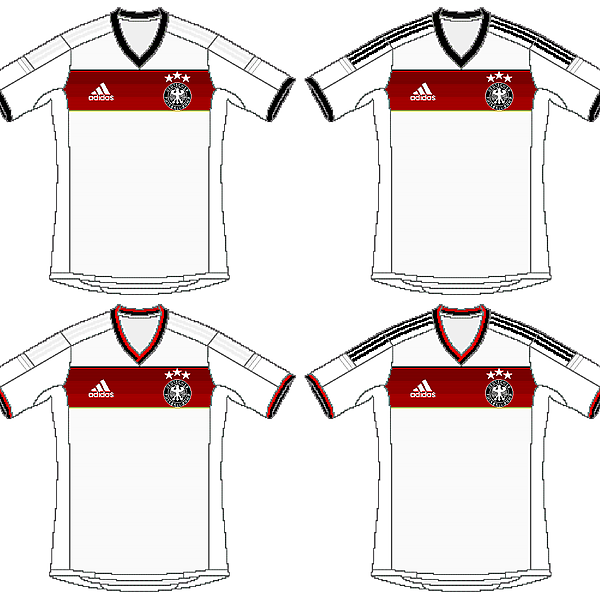 Germany Adidas World Cup Home Kit