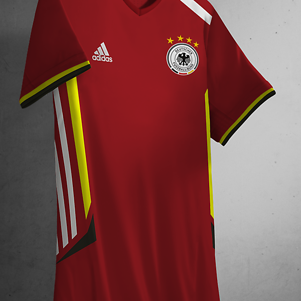 Germany Away Kit Adidas