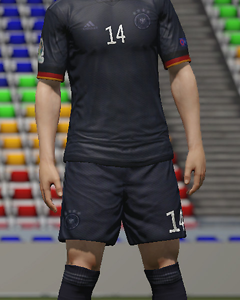 Germany Away kit EURO 2020