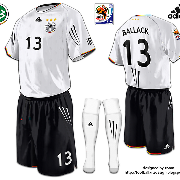 Germany World Cup 2010 fantasy home