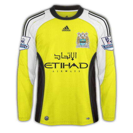 Man. City Fantasy Adidas GK Shirt