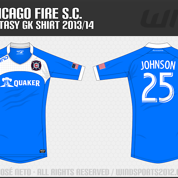 Chicago Fire, GK Shirt