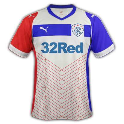Glasgow Rangers 17/18 away kit