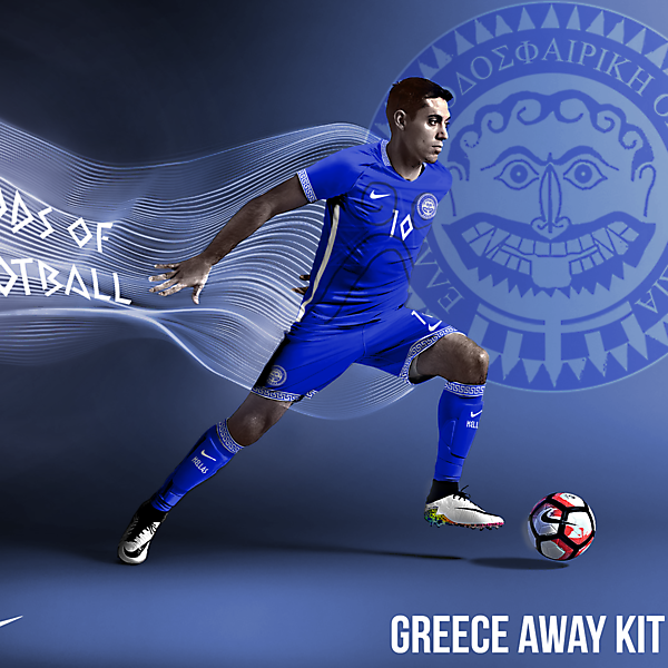 Greece Hoplitai kit Away