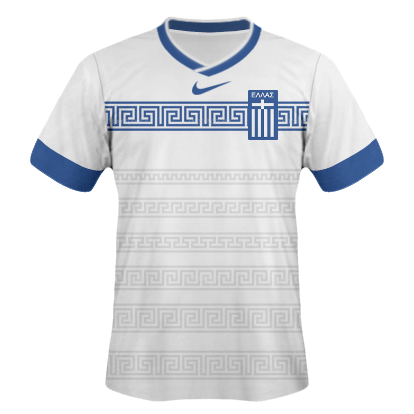 Greece nike home kit