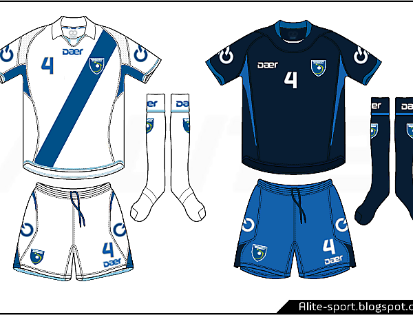 Guatemala Daer Home and Away Kits
