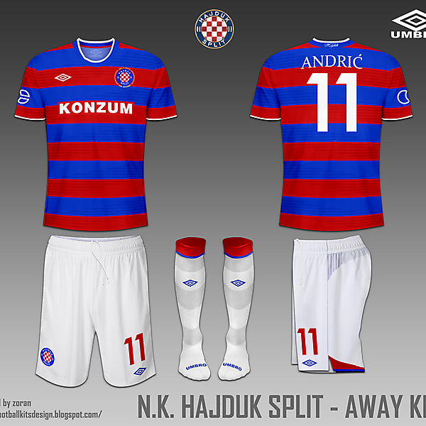 Hajduk Split fantasy home and away