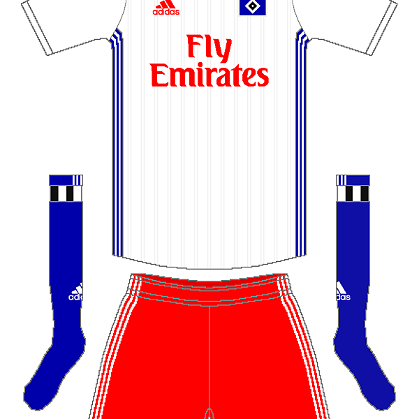 Hamburg SV Adidas Home Kit