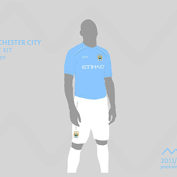 Manchester City home by green
