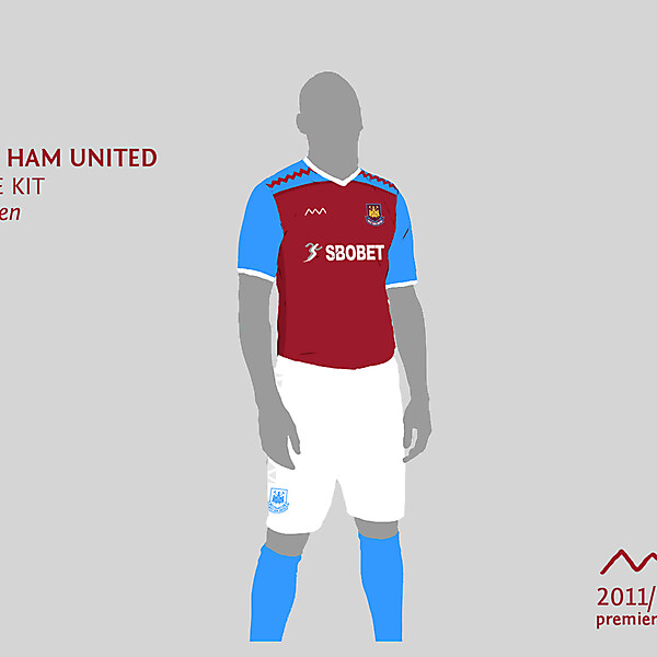 West Ham home by green